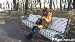 Russian loveliness student so lonely this autumn
