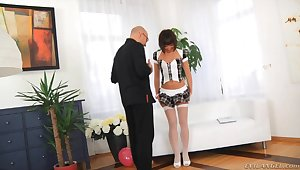 Twosome of the things this hottie loves is getting her ass fucked
