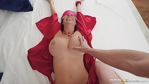 Required up submissive MILF everywhere chubby boobs is hammered missionary really hard