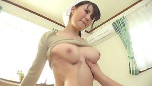 Hottest Japanese whore Yuka Tachibana in Horny big tits, maid JAV video