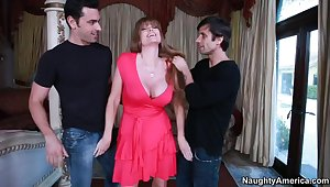 Darla Crane & Alan Stafford & Ryan Driller in My Friends Hot Mom