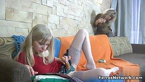 BackdoorLesbians Scene: Nora and Paulina A