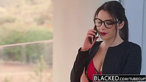 BLACKED Valentina Nappi takes the biggest bbc Old Scratch