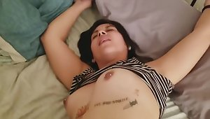College Dorm Latina Teen Takes Multiple Creampies