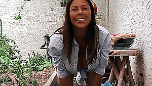 Alexis' Dildo Harvest