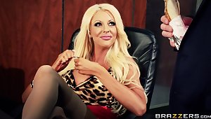 Lesbian babes Courtney Taylor increased wits Nikki Benz fucked wits a dude